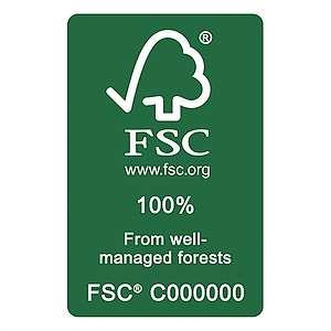 100% FSC Label