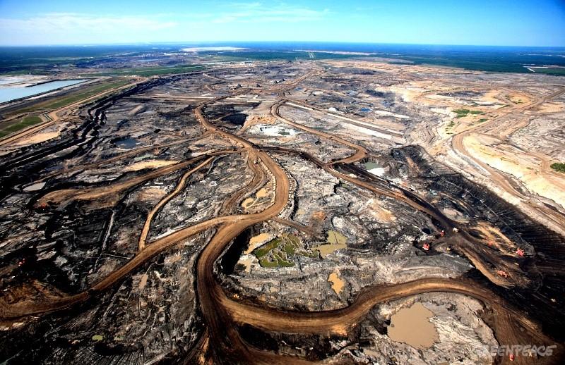 Greenpeace occupe une raffinerie Total pour dénoncer un crime climatique