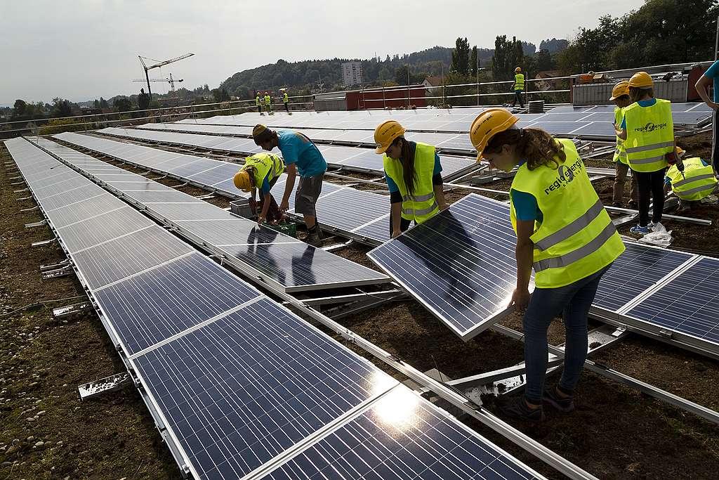 Ja zur Energiestrategie 2050:  Endlich vorwärts mit der Energiewende!