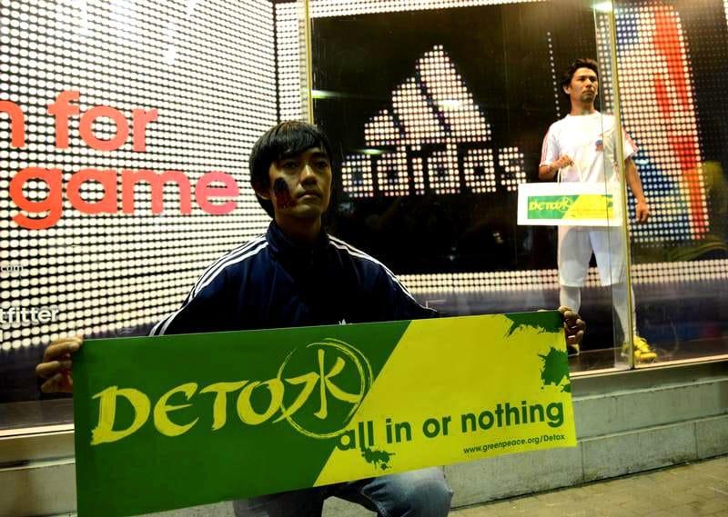 Detox!: Adidas décontamine (enfin) sa production
