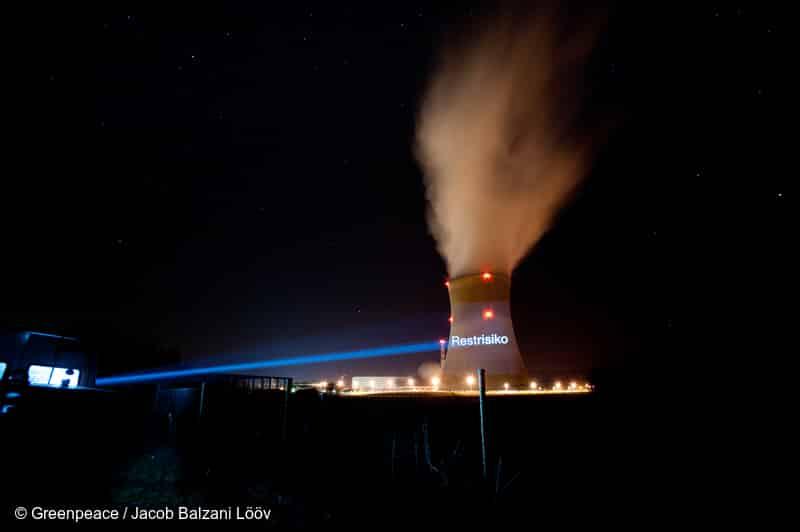 Beschädigte Brennstäbe im AKW Leibstadt: Greenpeace Schweiz reicht Beschwerde ein