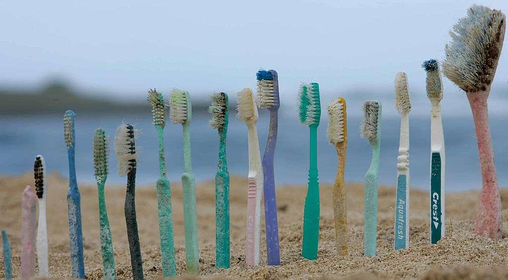 Les microplastiques:</br> particules cosmétiques et fibres textiles