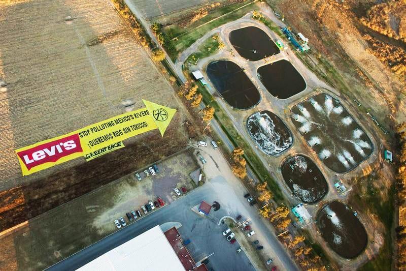 Detox!: Levi's responsable de la pollution de rivières au Mexique
