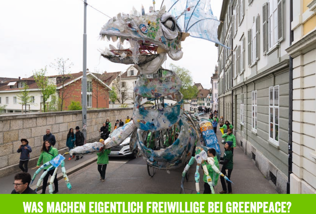 Engagier dich mit Greenpeace in Chur!