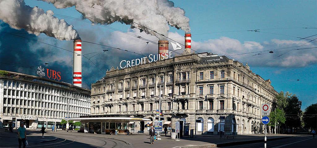Die Financiers der Klimakrise