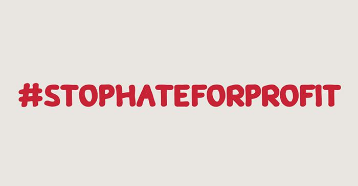 Contre la haine et le racisme #StopHateForProfit
