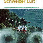Pestizide in der Schweizer Luft