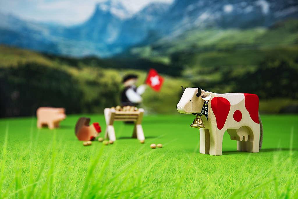 Zu viel! Die Schweizer Landwirtschaft lebt über ihre Verhältnisse