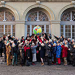 KlimaSeniorinnen feiern Etappensieg vor dem Europäischen Gerichtshof für Menschenrechte