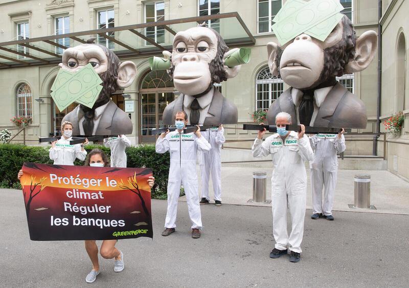 SNB muss alle ihre Aktivitäten an den Pariser Klimazielen ausrichten