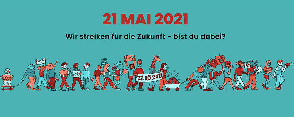 Strike for Future: Über 75 Aktionen in der ganzen Schweiz geplant