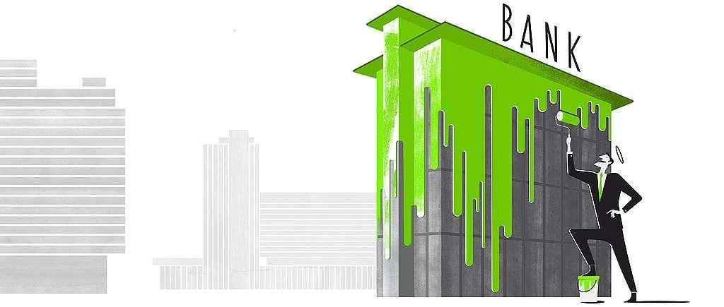 Attention greenwashing ! Publicité mensongère de la place financière suisse