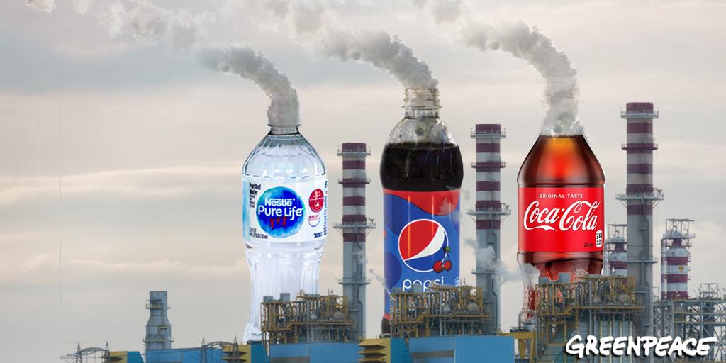 Les liens troubles de Nestlé et autres grandes marques avec l'industrie pétrolière et gazière